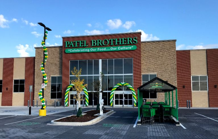 Knoebel Construction completes construction of 10th Patel Brothers Indian-American grocery store