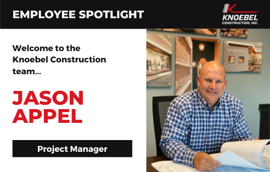 Jason Appel joins Knoebel Construction as Project Manager