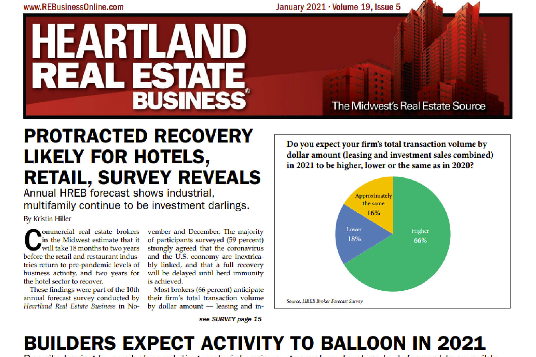 Knoebel's President discusses construction outlook for 2021 in Heartland Real Estate Business