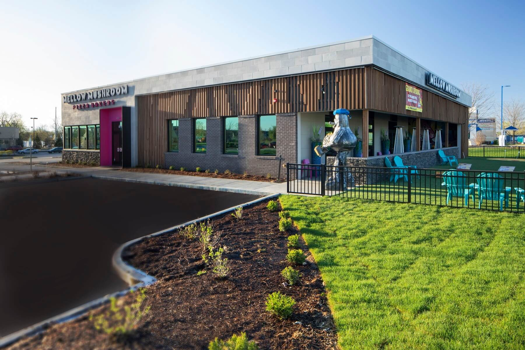 Knoebel Construction completes construction of St. Louis' new Mellow Mushroom restaurant