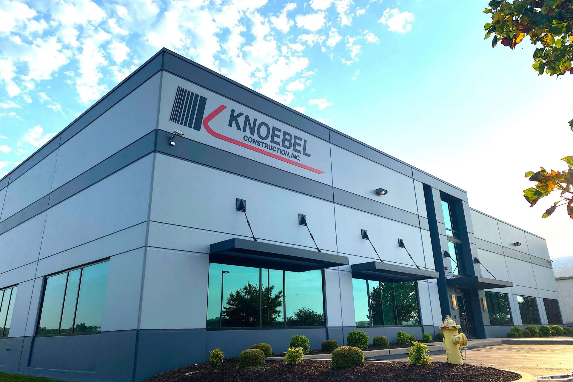 Knoebel Constructions celebrates 40th anniversary, begins 19,200-square-foot headquarters expansion